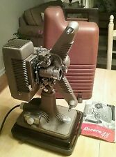 16mm Film Projector – Revere Model 48 With Case & Instructions