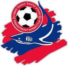 """Hapoel Haifa FC Israel Football Soccer Car Bumper Sticker Decal 4.6""""X4.6"""""""
