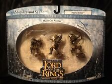 Lord of the Rings Moria Orcs Soldiers and Scenes MINT AOME