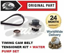 FOR FIAT GRANDE PUNTO 1.2 1.4 2007-> TIMING CAM BELT TENSIONER + WATER PUMP SET