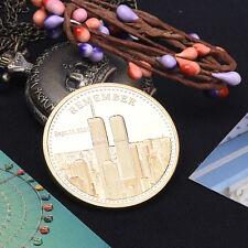 USA Remeber sept.11 2001 World Trade Center commemorative COIN badge Coins
