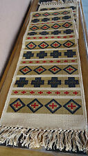 Canvas Stencil Table Runner 163-HIRUN Southwest Southwestern Design Western