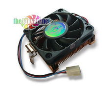 Evercool CU3A-610CA Low Profile 1U Copper CPU Cooler for Socket A, Socket 370