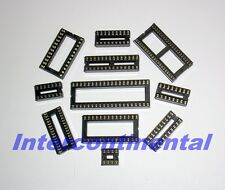 110pcs 11Values 8 14 16 18 20 24 28 32 40 42 pin IC Sockets Adaptor Solder Type