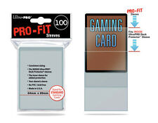100 Ultra Pro MTG Pro-Fit Perfect Fit Standard Size Card Sleeves Deck Protector