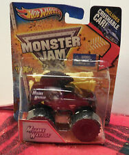 Hot Wheels Monster Jam Mohawk Warrior with crushable car - bent package