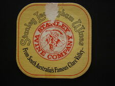 STANLEY LEASINGHAM WINES COMPANY SOUTH AUSTRALIA'S FAMOUS CLARE VALLEY COASTER