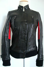 Surface to air Kid brigands Champ Jacket veste en cuir biker veste veste femmes taille 34 NEUF