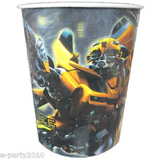 TRANSFORMERS BUMBLEBEE 9oz PAPER CUPS (8) ~ Birthday Party Supplies Beverage