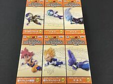 Dragon Ball Super World Collectable WCF ANIME 30th Anniversary Vol.5 5 Set of 6