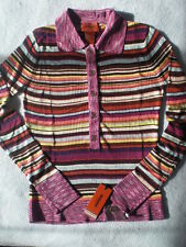 MISSONI for Target Knit Pullover Polo Shirt Designer Top-size S-New with Tag