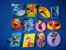 DISNEY PIXAR THE INCREDIBLES 3D MAGNETS SET PANINI - FIGURINES COLLECTIBLES
