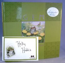 GEM by Children's Artist Holly Hobbie SIGNED First Edition Book VERY NICE