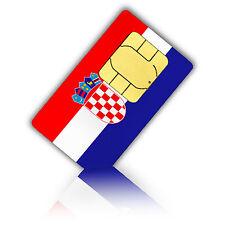 SIM Karte für Kroatien mit 750MB mobiles Internet Standard/Micro