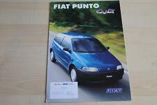 95745) Fiat Punto Cult - Österreich - Prospekt 04/1998