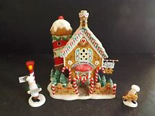 """DEPT 56 NORTH POLE """"GINNY'S COOKIE TREAT SET"""" - 3PC - #56732 - NEW IN BOX"""