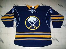 BUFFALO SABRES HOCKEY JERSEY CURRENT STYLE SIZE LARGE 50-52 W/LABATT LOGO UNIQUE