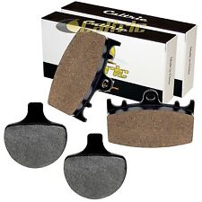 FRONT REAR BRAKE PADS FIT HARLEY DAVIDSON FLSTSB CROSS BONES 2008-2011