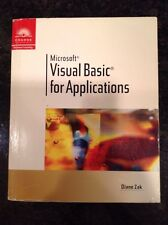 Visual Basic for Applications by Diane Zak (2000, Paperback)