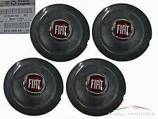 Origl Fiat Bravo Felgendeckel Radkappe schwarz anthrazit 4er Set Logo 735452756