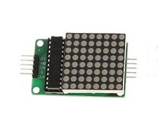 Max7219 Rojo 8x8 Led Display Dot Matrix Módulo Para Arduino 5-dupont línea Chip 23