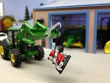 1/64 CUSTOM LOADER BUCKET CRANE W/ HOOK