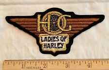 Harley Davidson HOG Harley Owner's Group Ladies of Harley Embroidered Patch