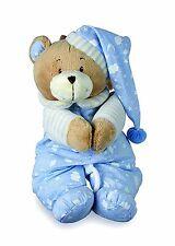 Bébé jouets musicaux pull down pink teddy bear joue brahms lullaby