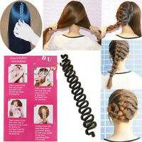 Fashion French Hair Braiding Tool Roller With Hook Magic Twist Styling Bun Maker
