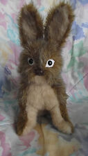 Bunny Rabbit Sitting, Stuffed Animal Pattern for you to SEW