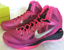 new Nike Hyperdunk 2014 653640-608 BCA Pink Fire Basketball Shoes Men's 11.5 NBA