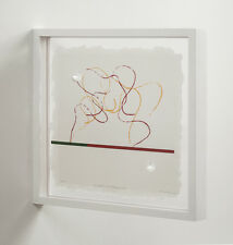 Richard Tuttle: Fluidity of Projection, 2008. Signed, Limited Edition Print.