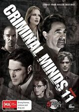 Criminal Minds : Season 11 (DVD, 2016, 5-Disc Set) REGION 4