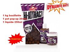 1kg bouillette DYNAMIT BAIT Hi-Attract squid liver - black pepper dip + pop up