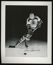 1955-56 BOB ARMSTRONG BOSTON BRUINS PROGRAM HOCKEY CARD MINT CONDITION RED WINGS