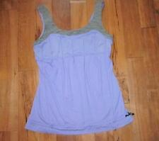 LULULEMON SUNSET TANK IN PURPLE AND GREY WEE ARE FROM SPACE SIZE 8