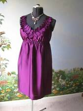 Ann Taylor Loft  Women Purple Cocktail Dress SZ 4 NWT MSRP $98