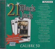 Calibre 50 21 Black Jack CD New Sealed