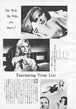 1967, Virna Lisi  Japan Vintage Clippings 1sss2