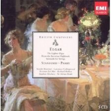 Harvey/Marriner/Cleobury/+ - Elgar, stanford, parry 5 CD symphonie classique NEUF