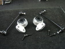 BMW E46 COMPACT CONVERIBLE LOWER WISHBONE ARM BUSHES 2 FRONT ANTI ROLL BAR LINKS