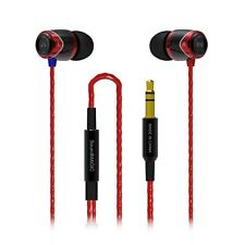 SoundMAGIC E10 In Ear Isolating Earphones - Black- & Red - NEW