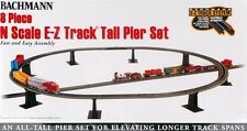 Bachmann N Scale Train 8-Piece Tall Pier Set 44872