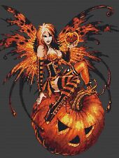 Halloween Fairy Cross Stitch Kit Fairies/Fantasy Free P&P