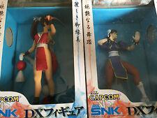 All Capcom VS. All SNK - DX Figure - Chun Li and Mai Shiranui figures
