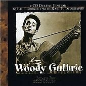 Woody Guthrie - Deja Vu Retro Gold Collection 2 CD Deluxe Edition (2002)