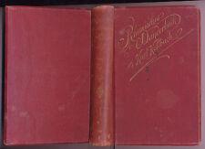 Rheinisches Wanderbuch Karl Kollbach 1892 Rheinland Wandern Wanderungen