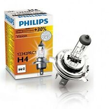 100% Original Philips premium vision  Headlight Bulbs Bulb H4 130/100W 2 Pc