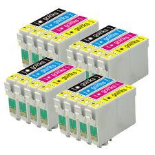 16 Cartouche d'encre pour Epson Stylus D712 DX5000 DX8400 SX115 SX405 DX4450