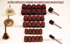 DREMEL PROXXON  TAMBOUR DE PONCAGE  BROSSE LAITON FEUTRE POLISSAGE POUR 36 ARTS